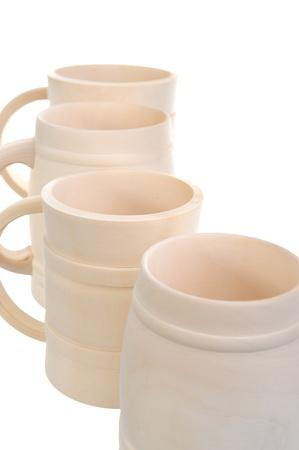 Image of a wooden beer mug Stock Photo - 9292820