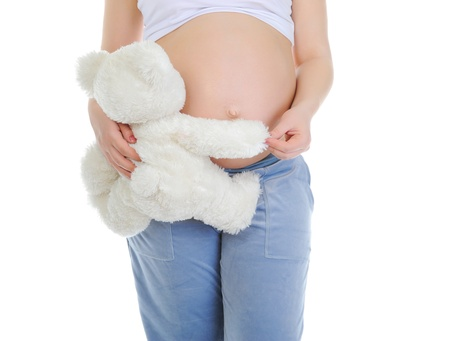 beautiful young pregnant woman Stock Photo - 9292828