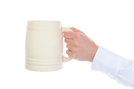 Image of a wooden beer mug Stock Photo - 9293227