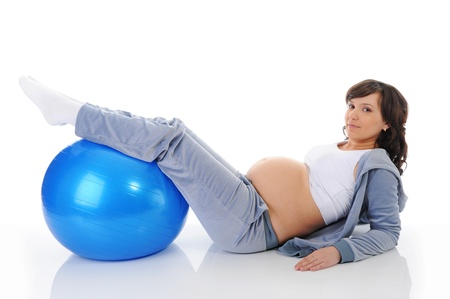 Beautiful pregnant woman Stock Photo - 9319132