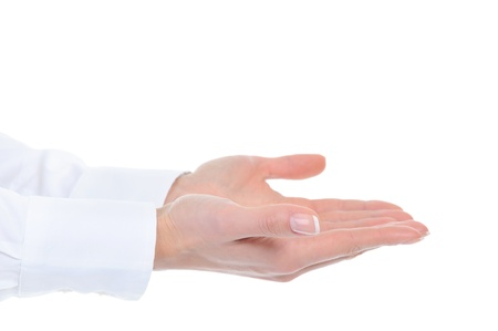 human hand held up. Stock Photo - 9319064