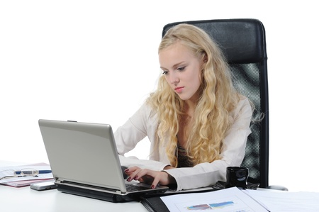 woman in the office workplace Stock Photo - 9319707