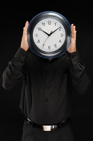 man holds hours Stock Photo - 9319709