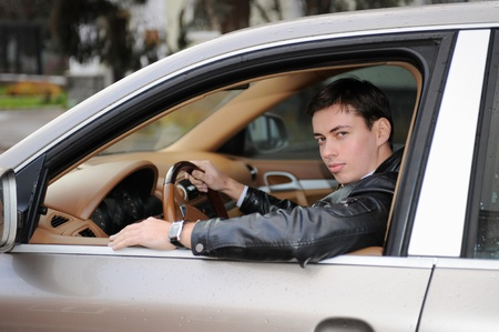 man showing the keys Stock Photo - 9319711