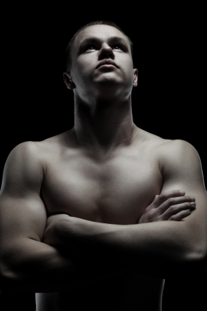 athletic young man Stock Photo - 9368899