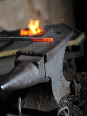 element in the smithy Stock Photo - 9368912