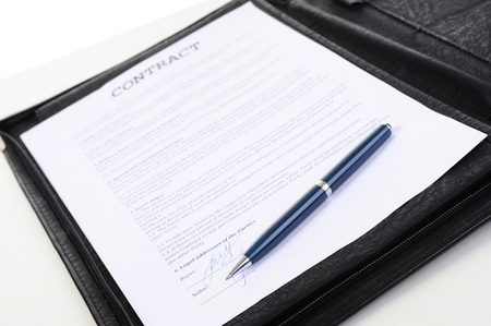 contract Stock Photo - 9952260
