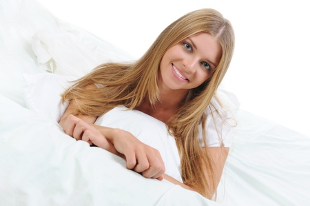 woman on the bed Stock Photo - 9952400