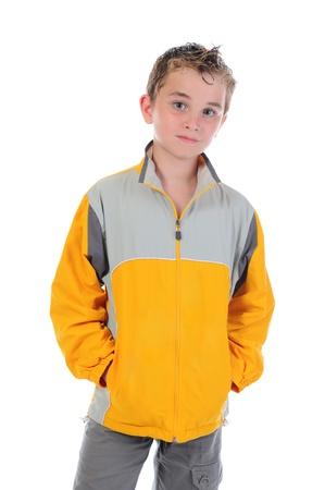 Portrait of emotionally boy. Stock Photo - 9952104