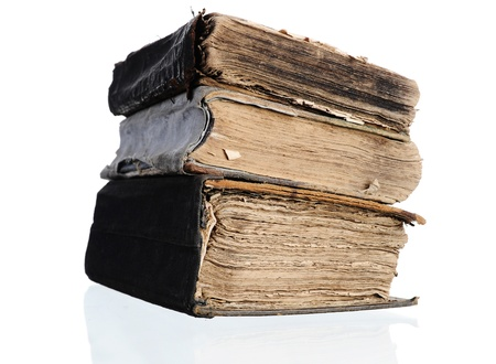 stack of old books Stock Photo - 9952306