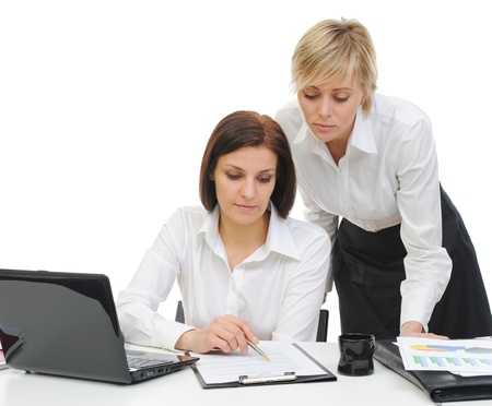 women in the office Stock Photo - 9952123