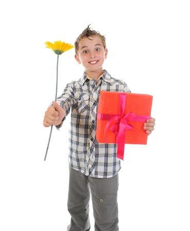 Portrait of emotionally boy. Stock Photo - 9952426