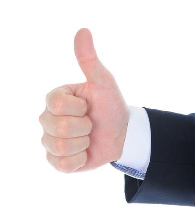 human hand tumb photo