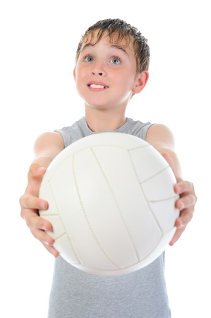 Portrait of a young football player Stock Photo - 9952339