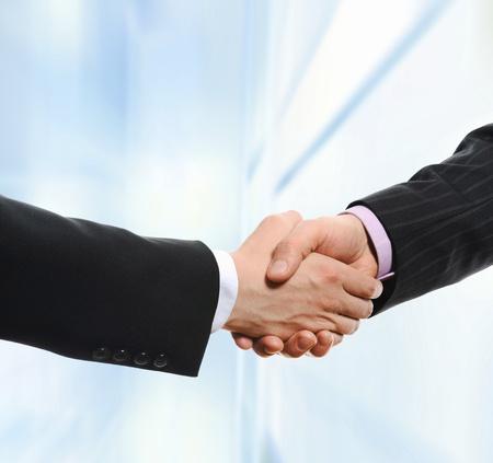 shake hands: handshake Stock Photo