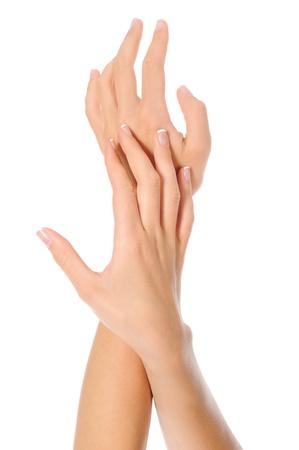 manos limpias: Manicura