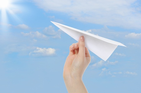 aspirations ideas: paper plane