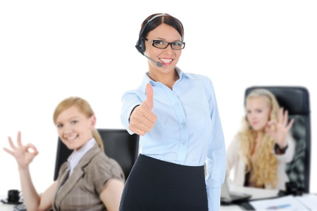 business team in an office Stock Photo - 10866933