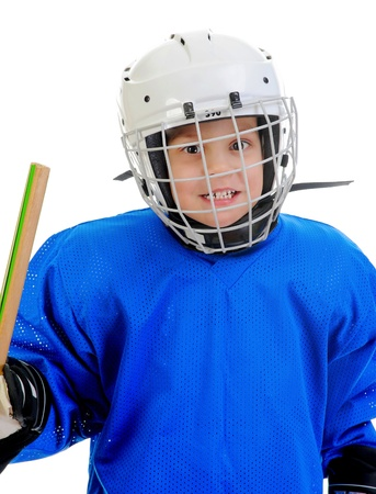 Little Boy Hockey Player photo