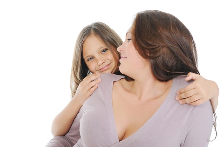 pregnant woman with her daughter Stock Photo - 11152168
