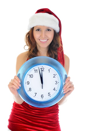 Christmas Smiling Woman photo