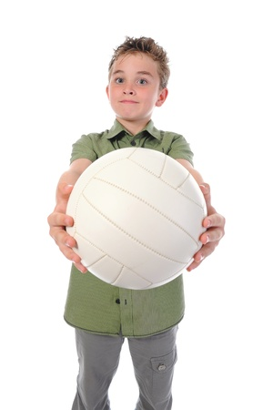 Portrait of a young football player Stock Photo - 11342308