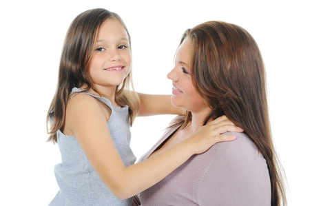 pregnant woman with her daughter Stock Photo - 11343019