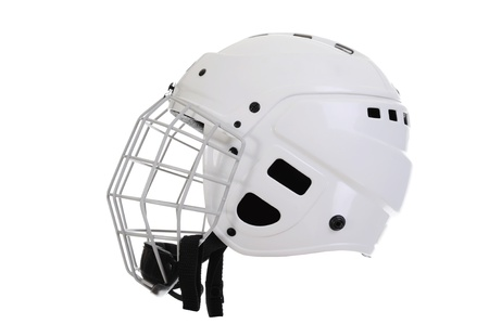 Hockey helmet photo