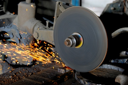 abrasive disk machine photo