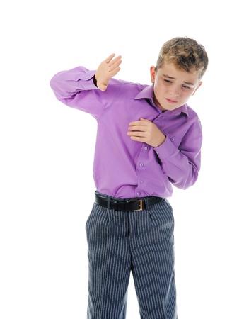 scared child: Scared Little Boy