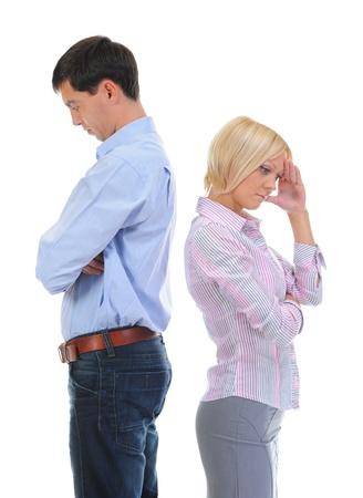 quarrel men and women photo