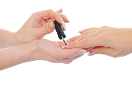 Woman manicures Stock Photo - 11361406