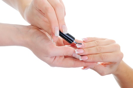 Woman manicures Stock Photo - 11360767