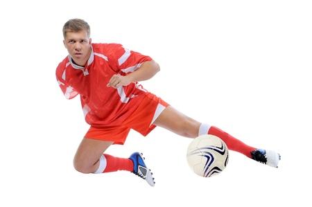 Footballer player Stock Photo - 13523974