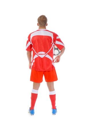 sports uniform: Footballer player