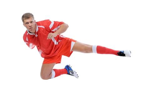 Footballer player Stock Photo - 13587673