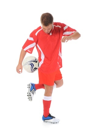 Footballer player Stock Photo - 13587818