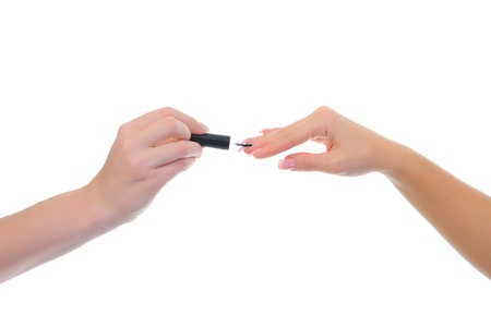 Woman manicures Stock Photo - 13932771