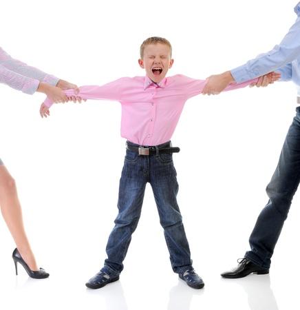 Parents share child