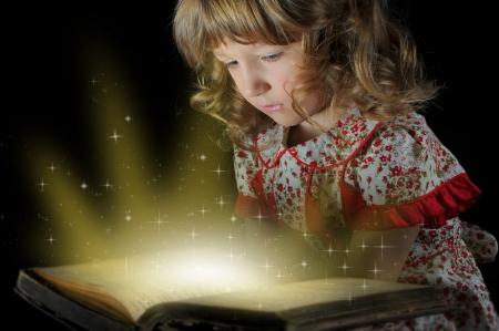 Teen girl reading the Book  Stock Photo - 13932478