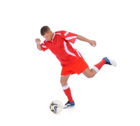soccer boots: Footballer player