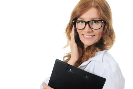 Young business woman photo