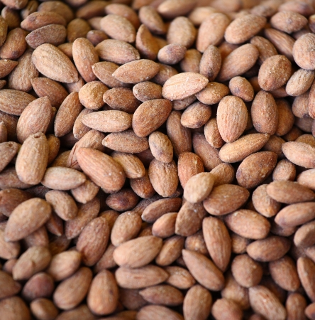 whole pecans: Nuts texture background