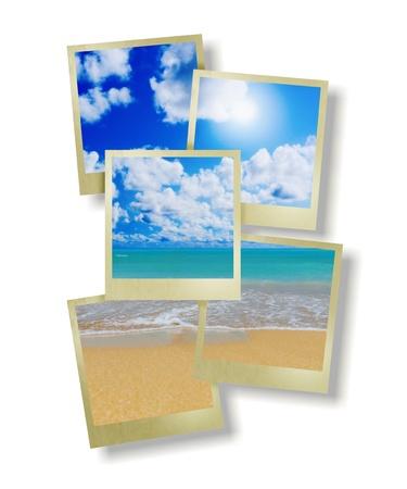 Sunny tropical beach on the island Stock Photo - 17705923