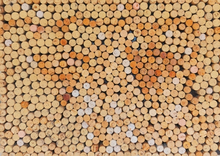 red wine stain: Wine Bottle Corks Stock Photo