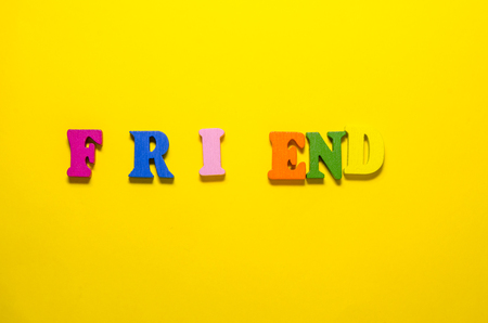 friend ends on end concept, bad friends relationship