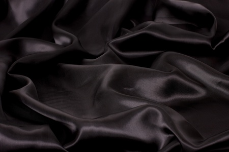 black: black satin fabric (landscape)