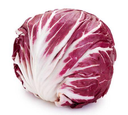 fresh radicchio isolated on white background Stockfoto