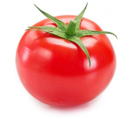 pomodoro fresco isolato su sfondo bianco