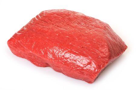 raw beef isolated on white background Zdjęcie Seryjne